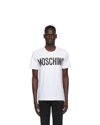 Moschino White Logo T Shirt
