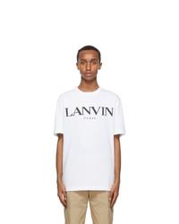 Lanvin White Logo T Shirt
