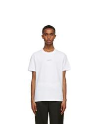 Valentino White Logo T Shirt