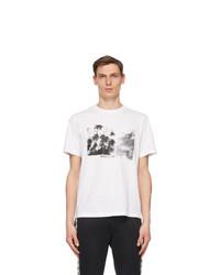 Moncler White Maglia T Shirt