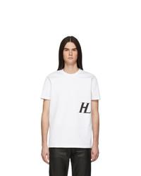 Helmut Lang White Masc Little T Shirt