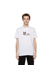 DSQUARED2 White Mini Mascot T Shirt