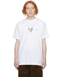 Marcelo Burlon County of Milan White Necklace T Shirt