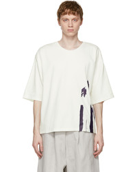 House Of The Very Islands White Painted Sass T Shirt