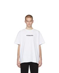 Vetements White Postage T Shirt