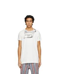 Maison Margiela White Print T Shirt