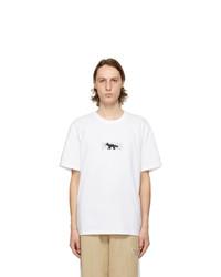 MAISON KITSUNÉ White Puma Edition Logo T Shirt