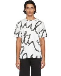 Paul Smith White Rope Logo T Shirt