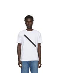 Saturdays Nyc White Slash T Shirt