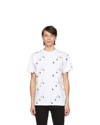 Off-White White Slim Logo T Shirt