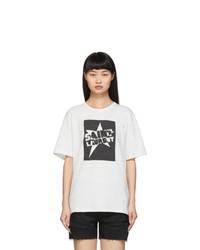 Saint Laurent White Star T Shirt