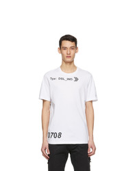 Diesel White T Just A42 T Shirt
