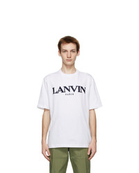 Lanvin White T Shirt