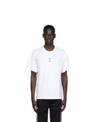 Neil Barrett White Thunder T Shirt