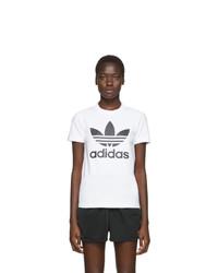 adidas Originals White Trefoil T Shirt