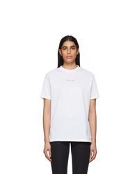 1017 Alyx 9Sm White Visual T Shirt