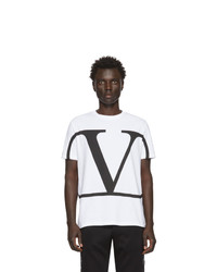 Valentino White Vlogo T Shirt