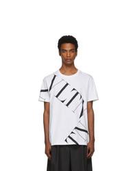 Valentino White Vltn Macro T Shirt