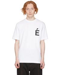 Études White Wonder Patch T Shirt