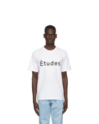 Études White Wonder T Shirt