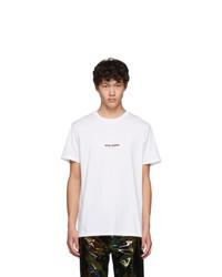Neil Barrett White Zeus Rider T Shirt