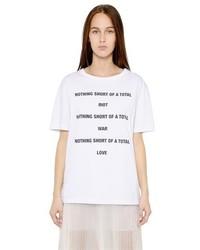 Yang Li Nothing Short Of Printed Cotton T Shirt