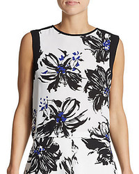 Botanical print crop top medium 322133