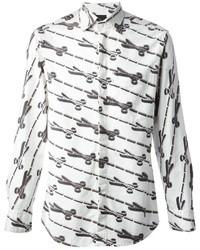 Bernhard Willhelm Scissor Print Shirt