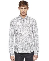 26685114e31b Gucci Duke Rope Print Cotton Muslin Shirt Out of stock · Gucci Blacksmith Print  Duke Shirt