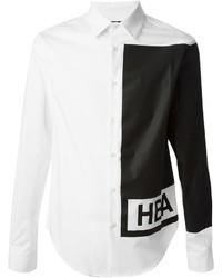 Hood by Air Logo Print Shirt