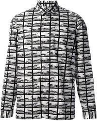 Kenzo Square Waves Shirt