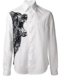 McQ by Alexander McQueen Bear Print Shirt