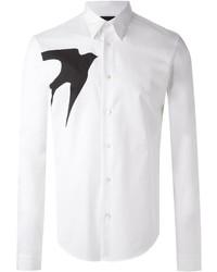 McQ by Alexander McQueen Mcq Alexander Mcqueen Swallow Print Shirt