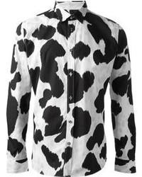 Moschino Cow Hide Print Shirt