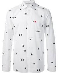 Neil Barrett Pacman Print Shirt
