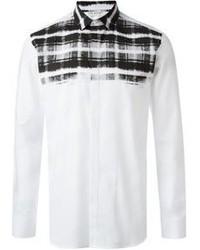 Neil Barrett Tartan Print Shirt