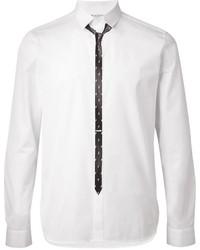 Neil Barrett Tie Print Shirt