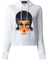 2 printed hoodie medium 126095