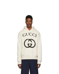 Gucci Off White Interlocking G Hoodie
