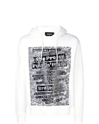 DSQUARED2 Quote Print Hoodie