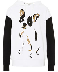 Tre ccile dog print cotton hoodie medium 126093
