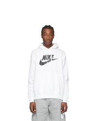 Nike White Club Hoodie