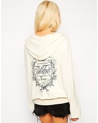 Wildfox Couture Wildfox Hoodie With Back Logo Print