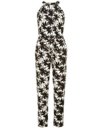 Dorothy Perkins Tall Palm Jersey Jumpsuit