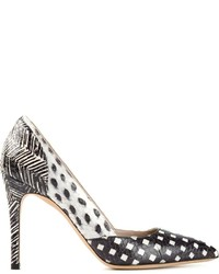 Marc Jacobs Printed Pump Shoes