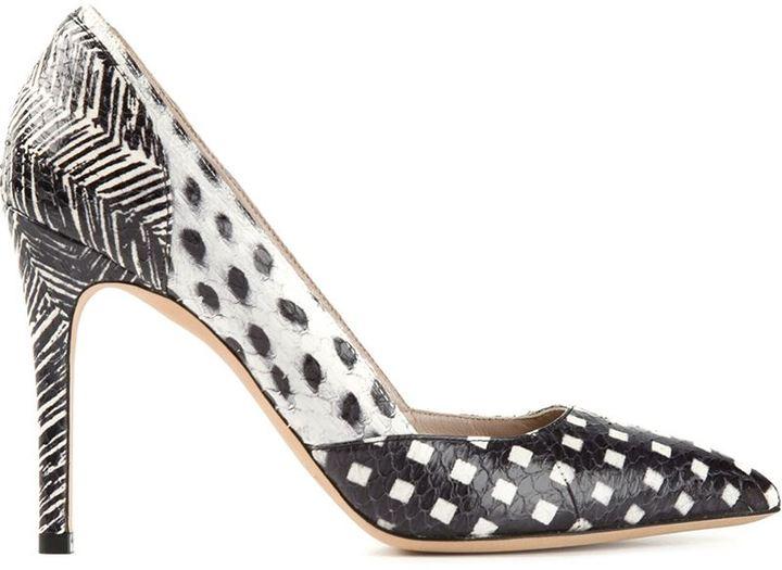 Marc Jacobs Printed Pump Shoes
