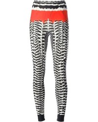 Alexander mcqueen printed leggings medium 69662