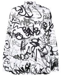 Vetements All Over Graffiti Shirt