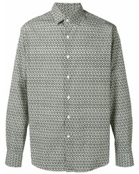 Salvatore Ferragamo Gancio Pattern Shirt