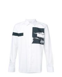 Neil Barrett Printed Button Shirt